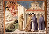Benozzo di Lese di Sandro Gozzoli Scenes from the Life of St Francis (Scene 4, south wall) painting